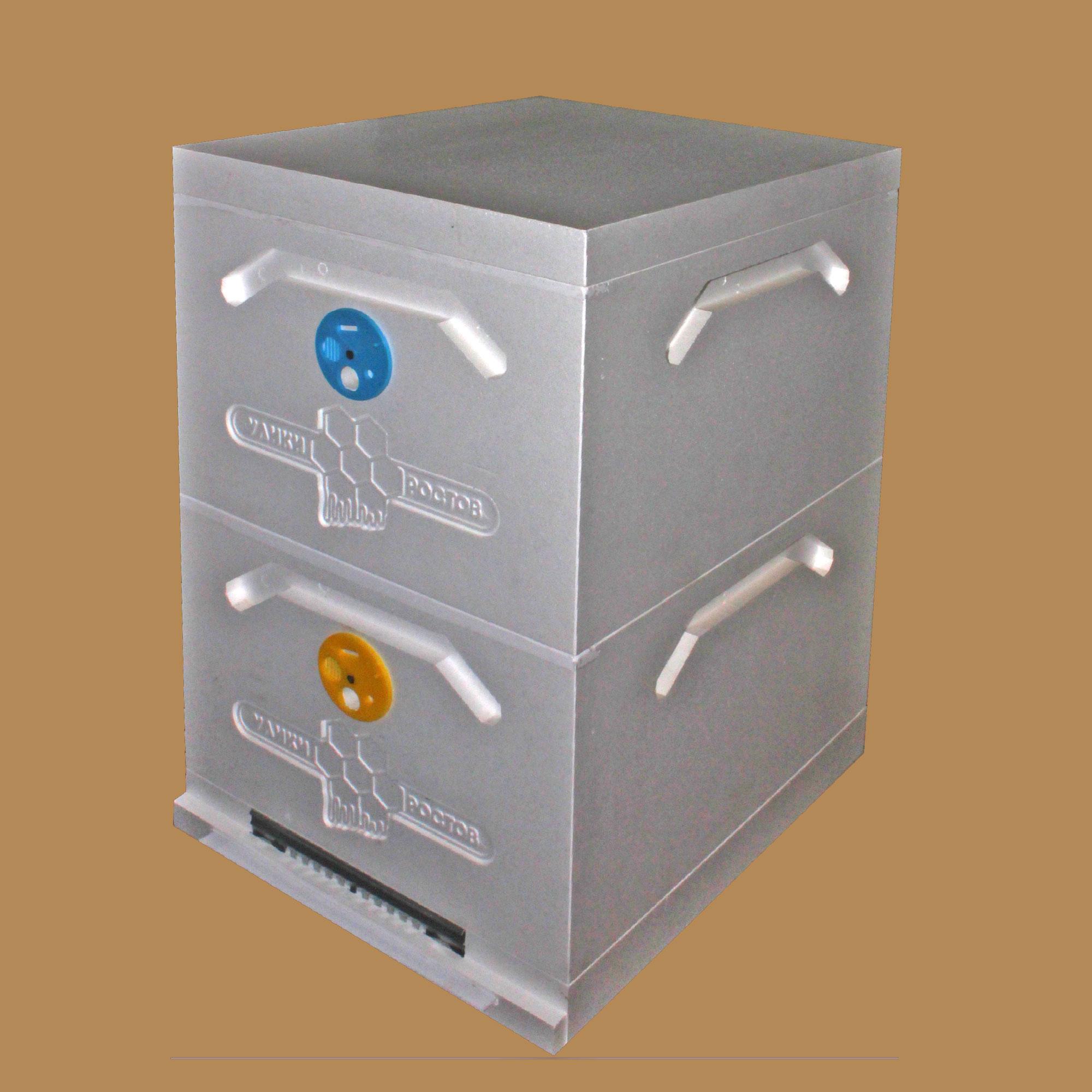 Улей Дадан 2-корпусный 10-рамочный усиленный (Д2-10)