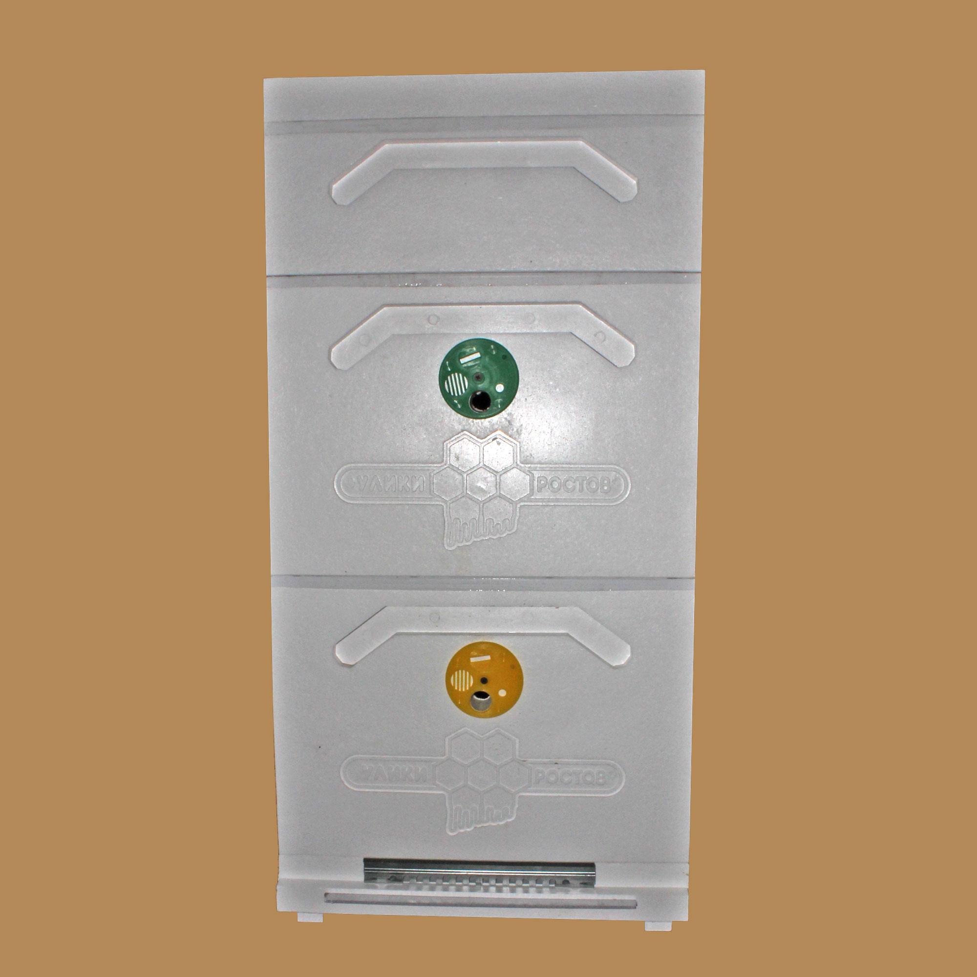 Улей Дадана 2-корпусный с 1 магазином 10-рамочный усиленный (Д2М1)