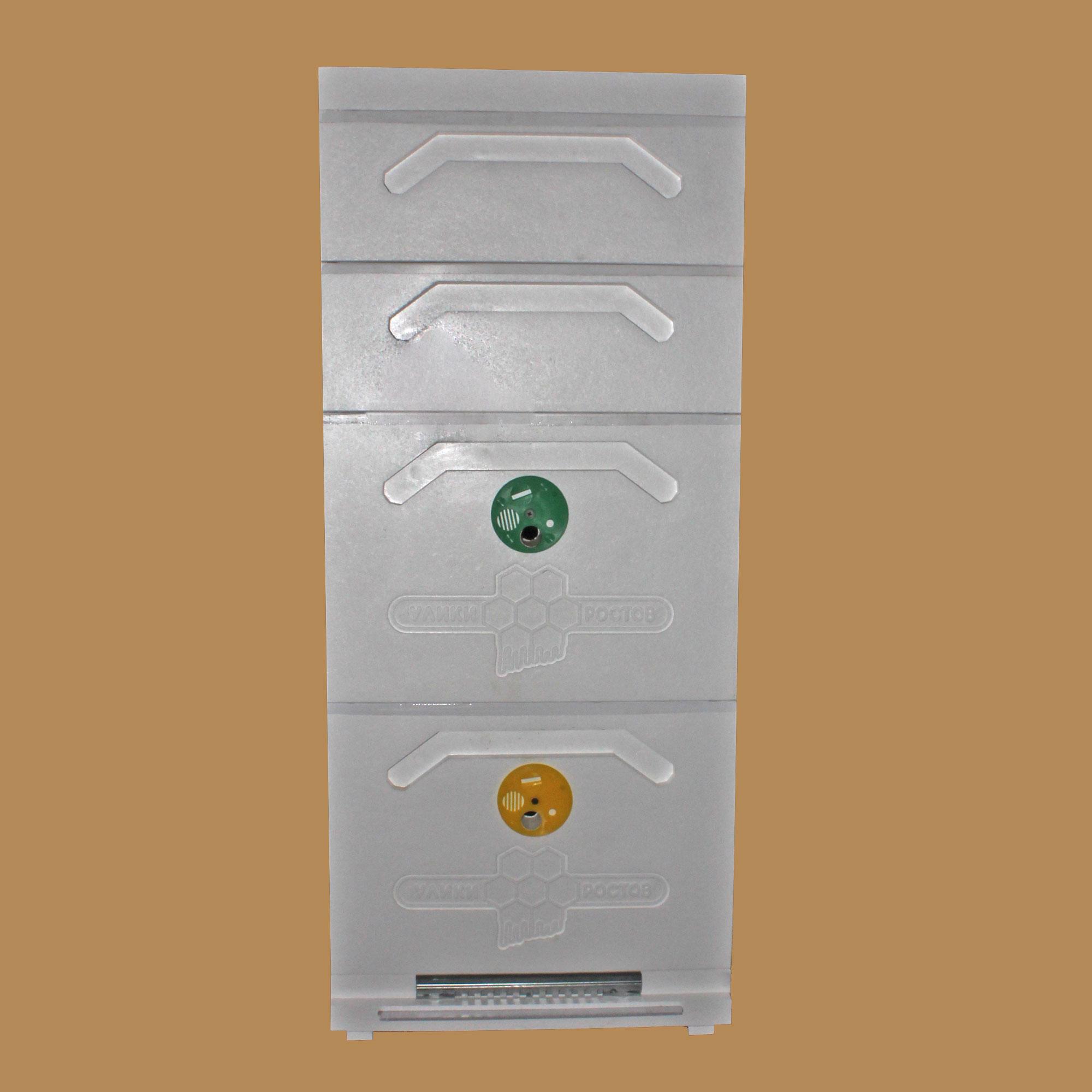 Улей Дадана 2-корпусный с 2 магазинами 10-рамочный усиленный (Д2М2-10)