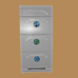 Улей Рута 3-корпусный 10-рамочный с кормушкой усиленный (Р3К-10)