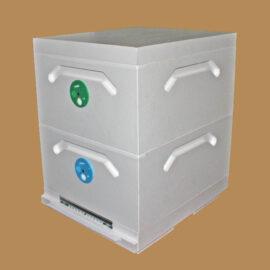 Улей Рута двухкорпусный 10-рамочный усиленный (Р2-10)